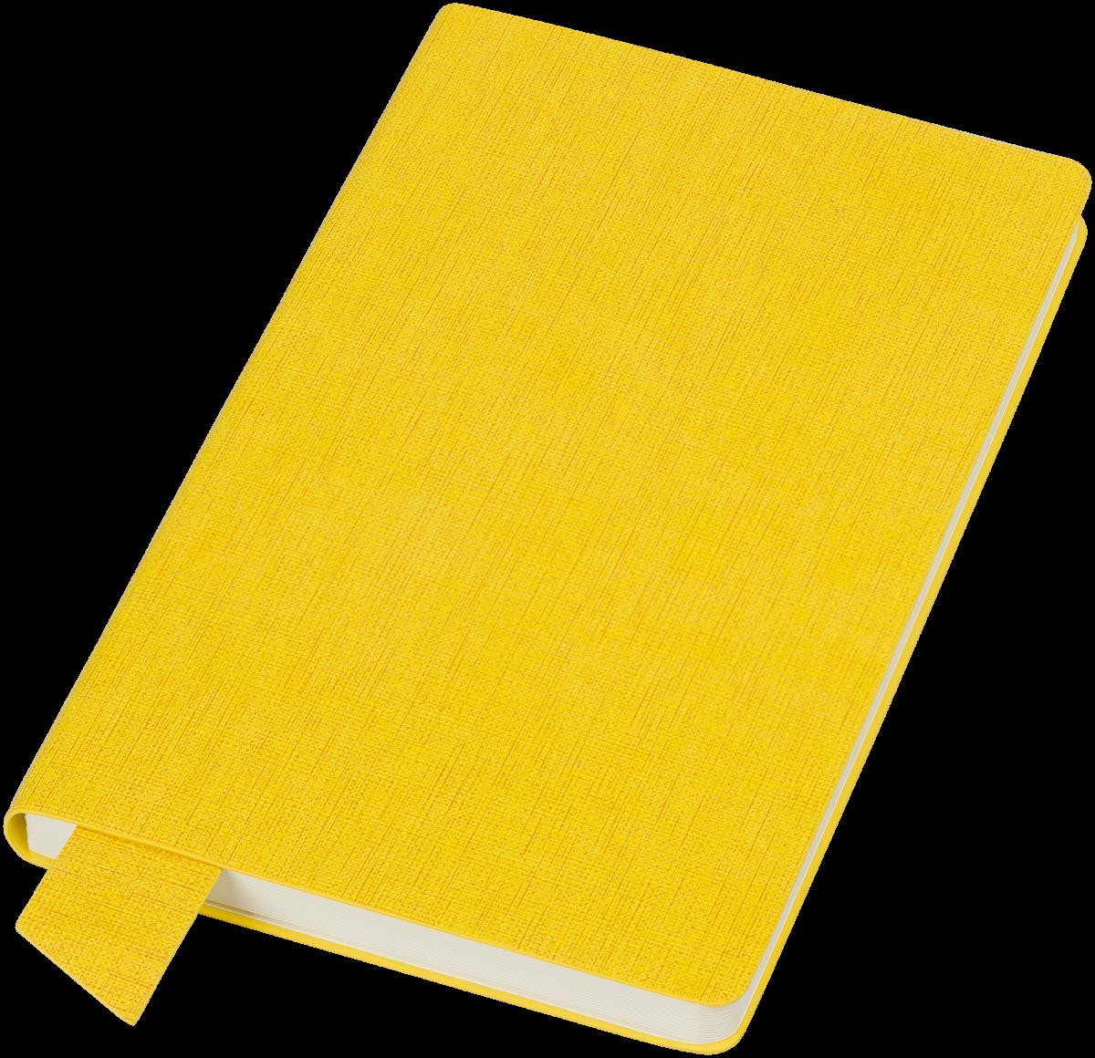 Желтый бизнес-блокнот Provance А5